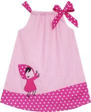 Vestito Bambina Serbatoio Carino catoon Stampa Polka Punto 2-6 anni