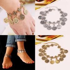 Sandals Antique Bohemian Barefoot Coin Anklet Bracelet