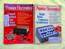 Popular Electronics Magazine 1971 1974 1975 1979 Popular Issues 71 74 75 79 (M)