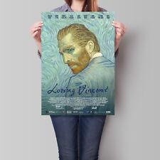 Loving Vincent Movie Poster Robert Gulaczyk as Van Gogh A2 A3 A4