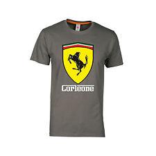 T shirt UNISEX Ferrari maglietta corleone mafia divertente happiness vip swag