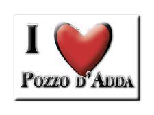 CALAMITA LOMBARDIA FRIDGE MAGNET MAGNETE SOUVENIR LOVE POZZO D'ADDA (MI)--