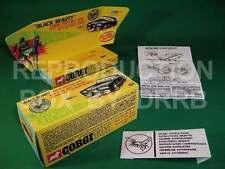 Corgi #268 Green Hornet's Black Beauty - Reproduction Box by DRRB