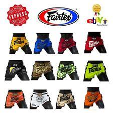 Fairtex Muay Thai Boxing Kick Boxing MMA  Slim Cut Muay Thai Shorts