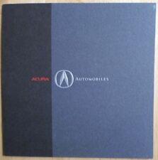 Acura NSX, légende berline & coupé, VIGOR & Integra 1992 brochure-Honda intérêt