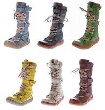 Leder Winter Stiefel Damen Schuhe Damenstiefel 36 - 42 TMA 7086