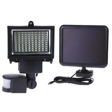 60/ 100 LED Garden Outdoor Solar Powerd Motion Sensor Light Security Flood Lamp