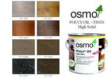 OSMO Polyx Hard Wax Olio Colore Sfumature - 0.75 LITRI Tin - (8 colori)