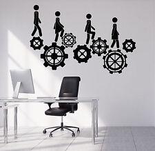 Wall Vinyl Decal Business Work Teamwork Office Decor z4702
