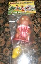 """NOS Vintage """"Drunk""""  Funky Monkey Handlebar Ornament Bobber"""