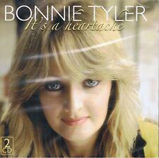 BONNIE TYLER-IT 'S A HEARTACHE - 2cds NEUF meilleur greatest hits Lost in France