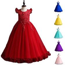 68e69a6b1 Niña con vestido Niños Princesa De Fiesta Boda Dama De Honor Cumpleaños  Formal
