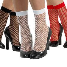 Kurze Strümpfe Netzstrümpfe für Damen Fish Net Söckchen Netzsocken Socken Frauen