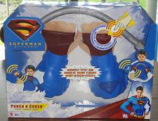 Superman Punch 'N Crush Gloves – Brand New