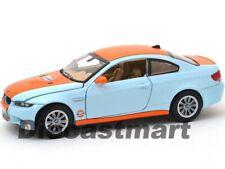 BMW M3 Coupé Golfo Petróleo 1:24 Modelo Fundido Coche por Motor Max 79644 Nuevo