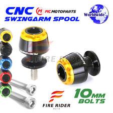 Billet 10mm MSHINE Swingarm Spools For Kawasaki ZZR600 2007-2009 07 08 09