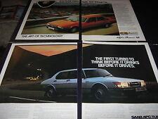 Alfa Giulietta AD, Honda Prelude AD, Mercedes 230E-280E AD, Saab 900 APC Turbo