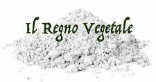Argilla BIANCA Polvere Ventilata PURA Bolus Alba Caolino Uso Esterno 100/500/1Kg
