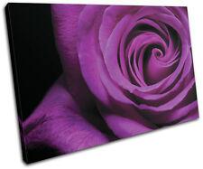 Roses Love Flowers Floral SINGLE TOILE murale ART Photo Print