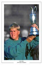John Daly 1995 Open Golf Autógrafo Foto firmada impresión