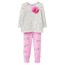 *BNWT* Baby Joules Girls Mari Cream Dot Dalmatians Top & Trouser Two Piece Set