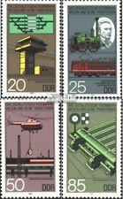 DDR 2968-2971 (kompl.Ausgabe) postfrisch 1985 Eisenbahnwesen EUR 2,60