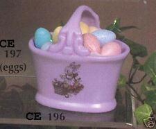 """New #196 Ceramic  Emporium Mold """"Plain Basket - 1 Pc"""""""