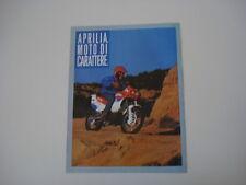 advertising Pubblicità 1989 MOTO APRILIA TUAREG WIND