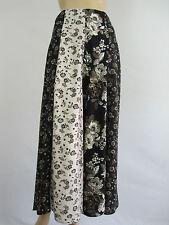 Crossroads Ladies Gypsy Rose Panelled Maxi Skirt sizes 8 10 14 Carmina Floral