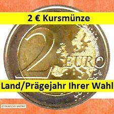 2 Euro Kursmünze aus einem Land/Prägejahr Ihrer Wahl • zwei Euro Münze