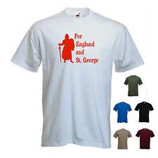 """pour l'Angleterre et St. George"" Homme St George's / Georges jour england t-shirt"