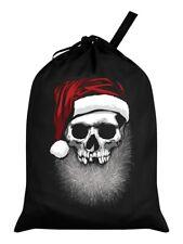 Santa Sack Muerto Christmas Black 46 x 60cm