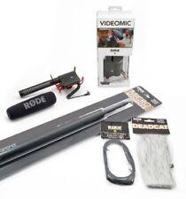 Rode VideoMic Kit Audio Essenziale, comprende VideoMic Rycote microfono direz...