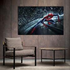 Spiderman Framed Canvas Print Spider man Home Decor gift super hero
