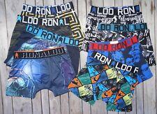 NEW 2019 8 Pack CR7 Cristiano Ronaldo Boys Sports Underwear Trunks size 4-15
