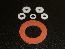 10 Silicone Rondelles-I/D 's de 4.1 mm jusqu'à 22.6 mm, 11 Différentes Tailles
