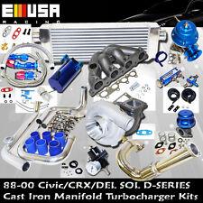 88-00 Honda Civic Precision 5431 Complete TurboKit D15D16 92-951.5L SOHC VTEC-E