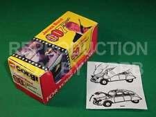 Corgi #272 James Bond Citroen 2CV - Reproduction Box by DRRB