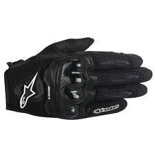 Alpinestars SMX-1 AIR Black Short Mens Summer mesh motorcycle Gloves SMX1