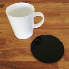 Round Coaster Set - Black
