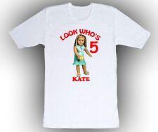 Personalized Custom American Girl Kailey Birthday Shirt Gift