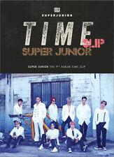 SUPER JUNIOR [TIME SLIP] 9th Album CD+POSTER+Photo Book+Photo Card+GIFT SEALED