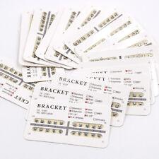 1 Bag Dental Orthodontic Metal Brackets Braces Mini Slot.018/022 No/3 /345 Hooks