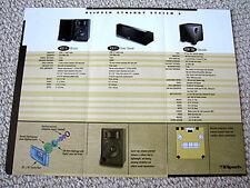 Klipsch Synergy System 6 speaker brochure