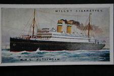 RMS ROTTERDAM   Holland America Line     Vintage Card # VGC