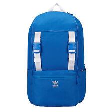 adidas Originals Bluebird Trefoil Backpack Outdoor Schule Rucksack Tasche blau