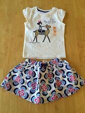 NWT Gymboree Desert Dreams Girl camel Tee Shirt Skirt set 12 18 24mo 2T 3T 4 5T