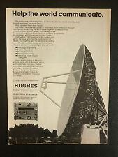 7/1982 PUB HUGHES AIRCRAFT ELECTRON DYNAMICS RADAR COMMUNICATIONS SATELLITE AD
