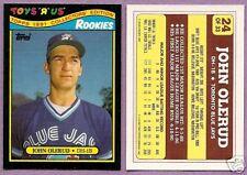 1991 Toys R Us Single John Olerud Toronto Blue Jays #24