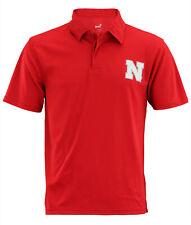 NCAA Men's Nebraska Cornhuskers Short Sleeve Performance Polo Shirt